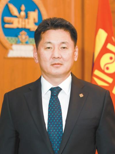 蒙古国总理呼日勒苏赫