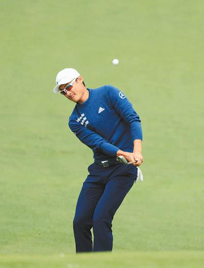 高尔夫美国大师赛 李昊桐排名第三十二位