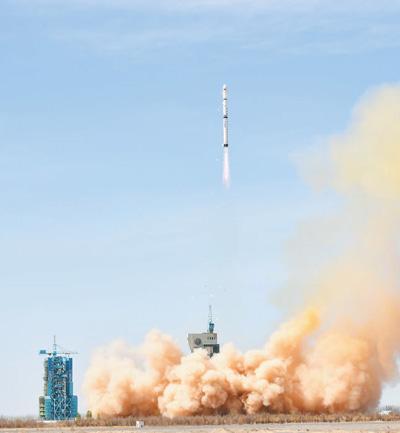 我国成功发射遥感三十一号01组卫星