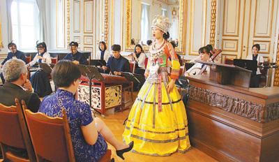 汉语热丰富德国文化风景线