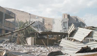 美英法对叙利亚发动空袭