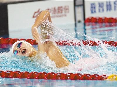 全国游泳冠军赛 孙杨个人第三金入账