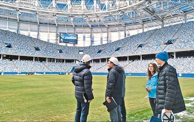 俄罗斯世界杯的脚步越来越近(第一现场)