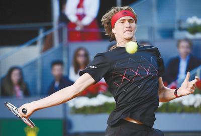 马德里网球公开赛 兹维列夫男单夺冠