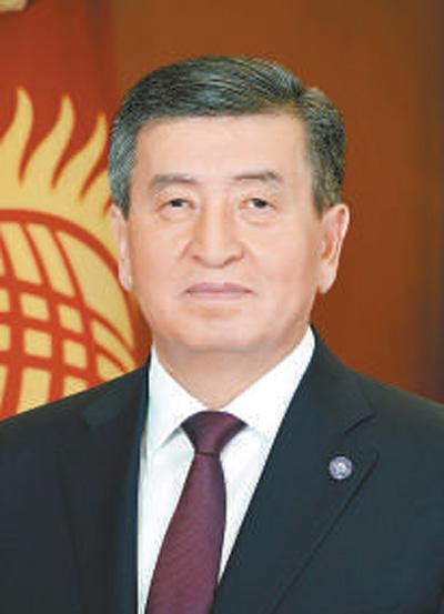 吉尔吉斯共和国总统热恩别科夫今起对我国进行国事访问