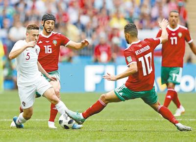 葡萄牙队胜摩洛哥队(动感2018)
