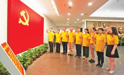 各地干部群众共庆建党97周年(图)
