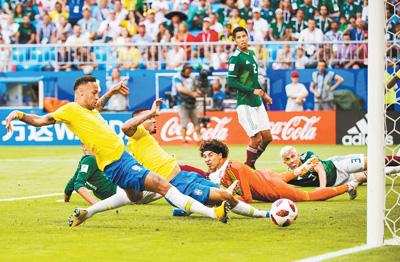 巴西队晋级八强(动感2018)
