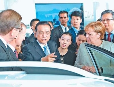 李克强:欢迎德国自动驾驶在中国落地