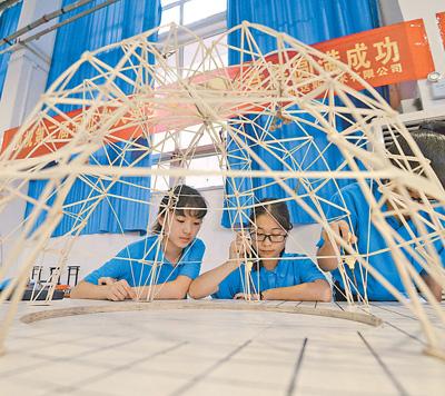 第二届河北省大学生结构设计竞赛举办