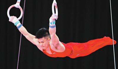 亚运会体操男子个人全能 林超攀夺得冠军