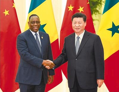 习近平分别会见出席中非合作论坛北京峰会的部分非洲国家领导人和国际组织负责人