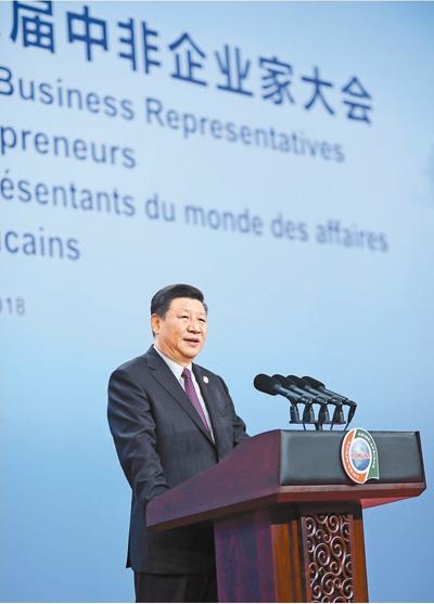 習近平分別會見出席中非合作論壇北京峰會的部分非洲國家領導人和國際組織負責人