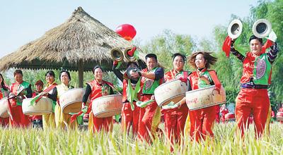 全國各地歡度第一個中國農民豐收節