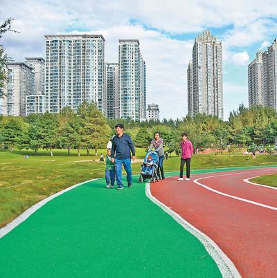 高尔夫球场变身开放公园
