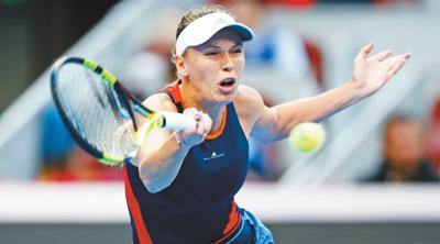 中网女单沃兹尼亚奇夺冠