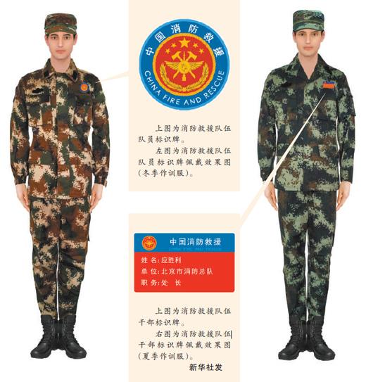 国家综合性消防救援队伍改革过渡期身份标识牌发布
