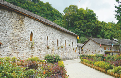 贵州省镇宁县高荡村:一座石头建筑的博物馆