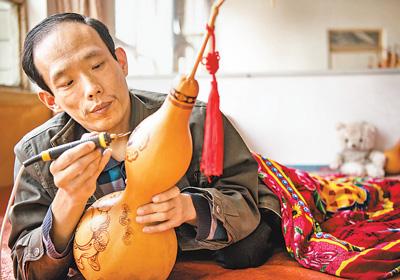公益人物:葫蘆燙畫助脫貧
