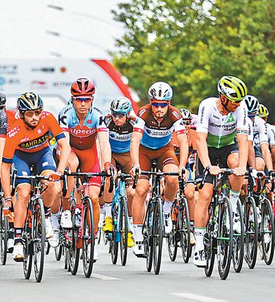 环广西公路自行车世界巡回赛开赛王氏点立瘦