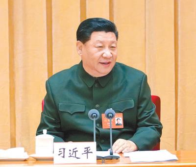 习近平:建立健全中国特色社会主义军事政