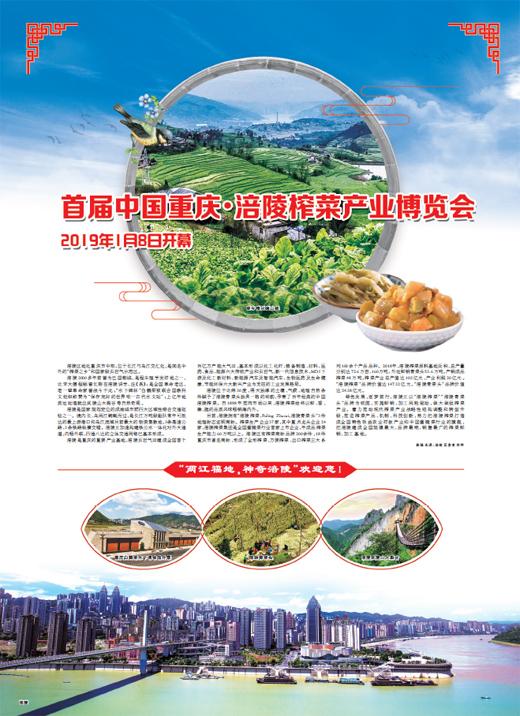 首届中国重庆・涪陵榨菜产业博览会