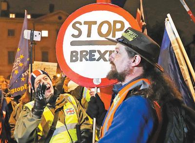 新僵局:英国要求修改协议 欧盟拒绝重新谈判