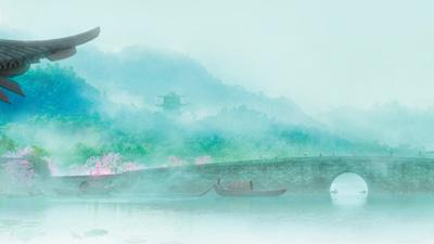 图为电影《白蛇·缘起》海报(局部).