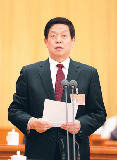 十三届全国人大二次会议在京开幕 习近平等党和国家领导人出席