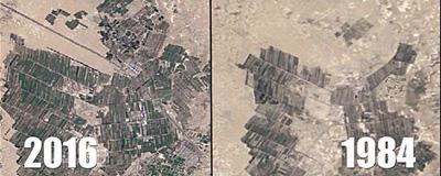 绿色改变中国微视频:卫星影像展示绿化奇迹