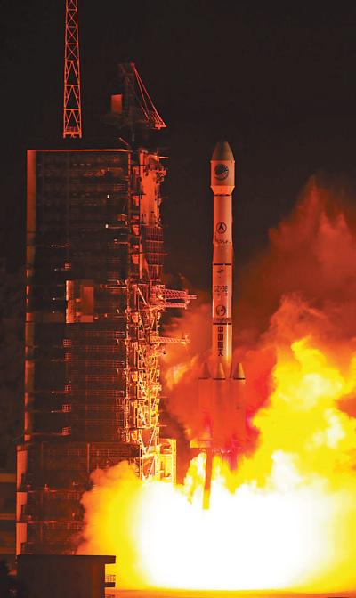 长三甲系列运载火箭实现第100次飞行(礼赞70年)