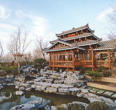 花湖映楼 绚丽家园