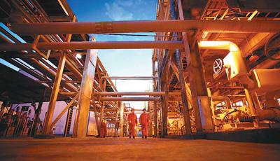 天然气消费量去年超2800亿方