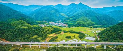 复古图片素材美丽中国正在加速前行