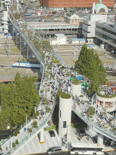 """首尔大力推进""""步行城市""""计划"""