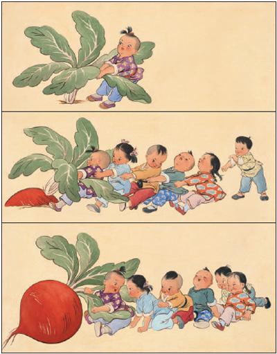 儿童小视角时代大主题(逐梦70年)
