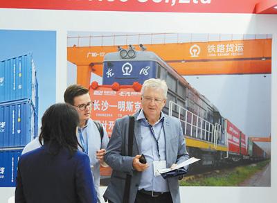 """""""一带一路""""助推全球物流业发展,鲁梅尔:期待更多中国物流企业前来参展"""