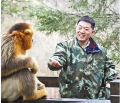"""向左甫:""""金丝猴在哪里,我们就在哪里"""""""