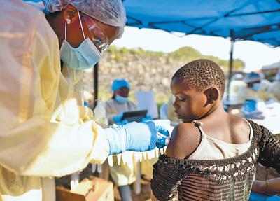 非洲埃博拉疫情组成国际存眷的突发民众卫闹变乱
