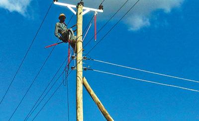 中企为肯尼亚偏远地区带来光明