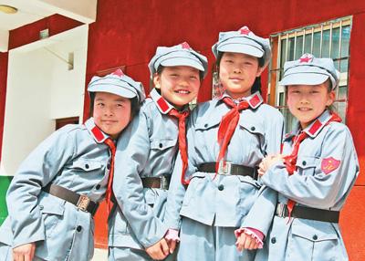 陕西铜川耀州照金北梁红军小学:让红色基因代代相传
