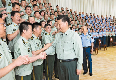 牢記初心使命 提高打贏能力 以優異成績慶祝新中國成立70周年