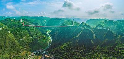 一桥飞架,天堑变通途(70年,共同走过·大国小家)