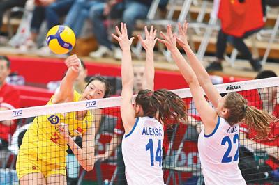 中国女排,第十冠!