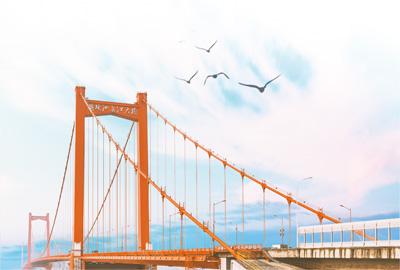 万里长江第一桥:一桥跨南北 天堑变通途