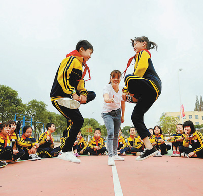 传统体育进校园