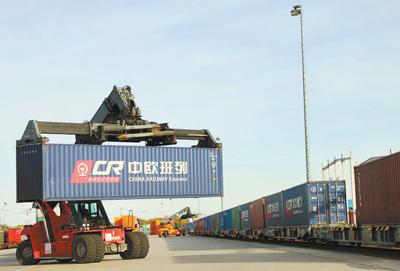 中欧班列 为跨境电商发展提供新通道