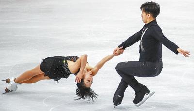国际花滑大奖赛总决赛双人滑隋文静/韩聪夺冠