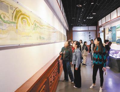 河南郑州的黄河博物馆,仿佛走进一条黄河文化的时光隧道
