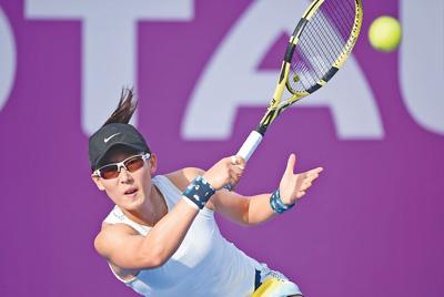 国际女子职业网联卡塔尔公开赛郑赛赛闯进单打16强